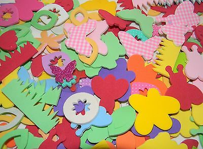 Assorted Spring Insects Foam Self-Adhesive Craft Stickers over 150 pieces