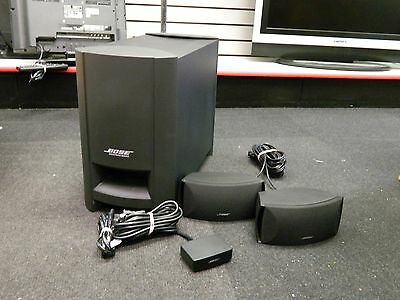Bose CineMate Series II Digital Home Theater Speaker System No Remote. R898