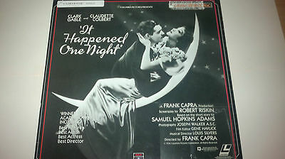 It Happened One Night (1934) Laserdisc (Discount Shipping)!!!