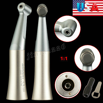 5*Dental Straight Low Slow Speed Handpiece E-type Nose cone Fit Prophy NSK motor