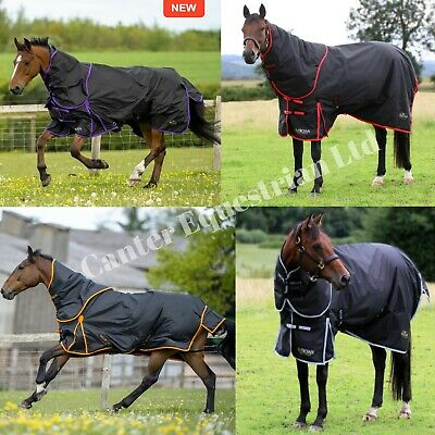 Lightweight No Fill Turnout Horse Rain Rug. Plain Navy, Star or Rainbow