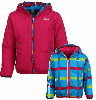 Dare2b Whimsical Reversible Padded Quilted Girls Jacket Kids DGN001