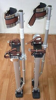 "Brand New Painter's & Drywall's STILTS(24-40"")(silver)"