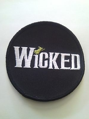 Wicked Broadway Theater Embroidered Patch Souvenir Collectible