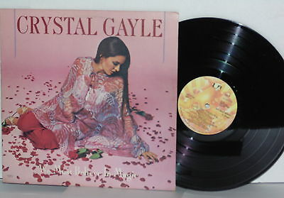 CRYSTAL GAYLE We Must Believe In Magic LP Fanny Going Down Slow River Road