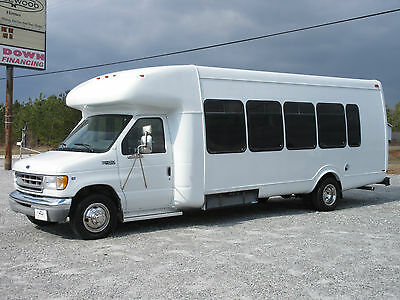 Ford : E-Series Van E450 Awesome 24 Passenger Shuttle Bus Church Band School Lots of Storage SUPER NICE!
