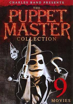 the Puppet Master Collection (DVD, 2012, 2-Disc Set 9 Movies LOT SET