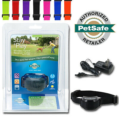 PetSafe Rechargeable Collar for Wireless Fence Stay Play FREE Strap