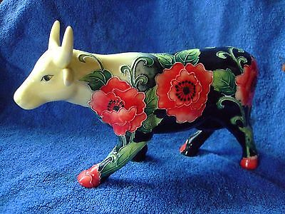 """"""" OLD TUPTON WARE"""" FLORAL COW."""