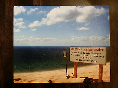"""8"""" x 10"""" Photograph Printed on Metal ~ Orchard Beach State Park ~ MSRP $70!!!"""