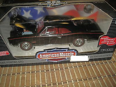 american muscle 1966 pontiac GTO ertl collectibles