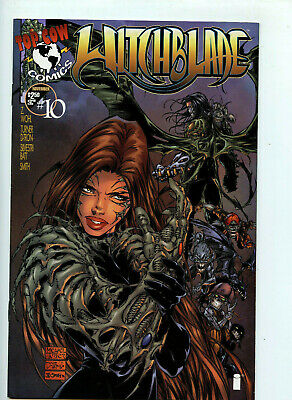 Top Cow Comics Witchblade #10 Michael Turner Cover  NM+/Mint New 1995 Book H7