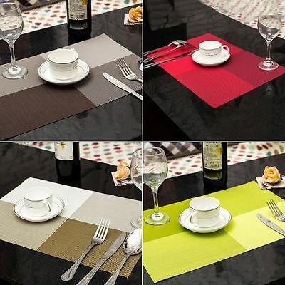 1Pcs PVC Quick-drying Placemats Insulation Mats Coasters Kitchen/Dining Table