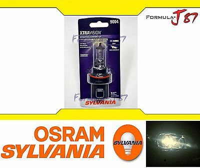 SYLVANIA XTRA VISION 9004 HB1 65/45W ONE BULB HEAD LIGHT REPLACEMENT DUAL BEAM