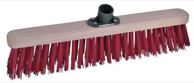 """ProDec 18"""" Inch Synthetic Sweeping Broom Solvent Resistant Brush Head (PMSY1801)"""