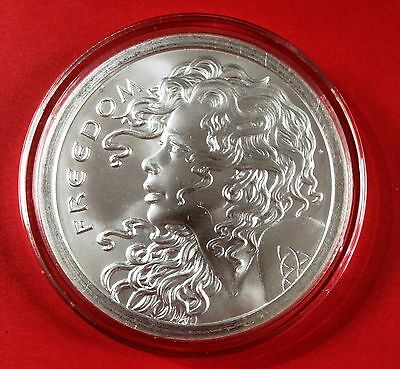 "2013 5 OZ FREEDOM GIRL ONLY ""100 MINTED"" VERY RARE - Brilliant Uncirculated SBBS"