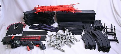 Huge Lot AFX Aurora Tomy Track Straight Curve Bank Hairpin 76 Pieces Track ++