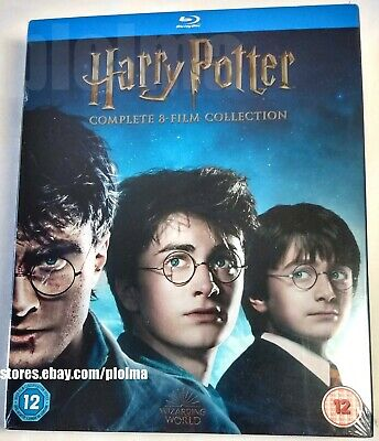 HARRY POTTER The Complete 8-Film 16-DISC Collection Brand New BLU-RAY SET 1-8