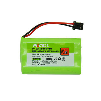 1X Cordless Phone Battery Replacement Ni-MH 5/4AAA 800mAh 3.6V for Uniden BT-446