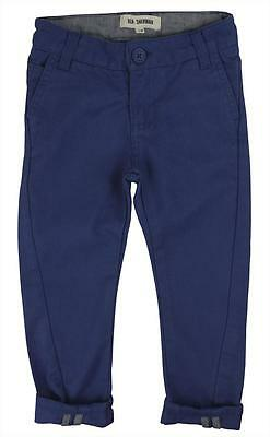 Ben Sherman Boys Twisted Chinos - Washed Blue