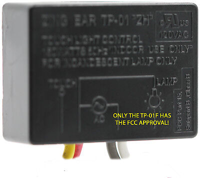 Zing Ear TP-01 ZH Touch Light Table Lamp Dimmer Switch Control Module Sensor