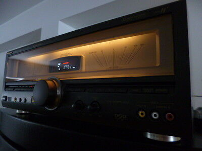 RARE 560 WATT TOTAL TECHNICS SA TX50 THX REFERENCE WITH HUGE POWER METERS
