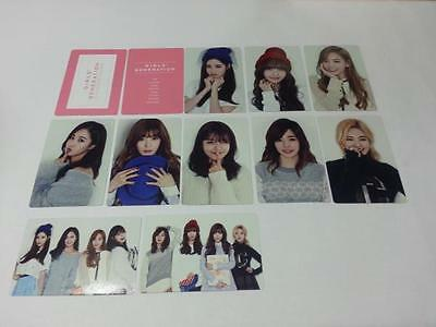 Girls' Generation 2015 Season's Greetings Official Photocard K-POP Idol SNSD NEW