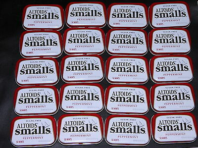 Empty Altoids Curiously Strong Mint Tins 20 Small Craft Supplies