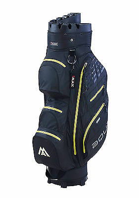 Big Max Cartbag Aqua Silencio I - Dry - wasserdicht -Farbe: black/yellow