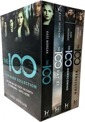 Kass Morgan, The 100 Series Collection 3 Books Set -the 100, Days 21, Homecoming