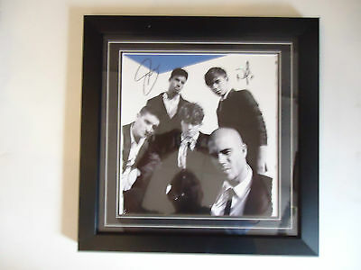 The Wanted Genuine Hand Signed/Autographed Photo with COA