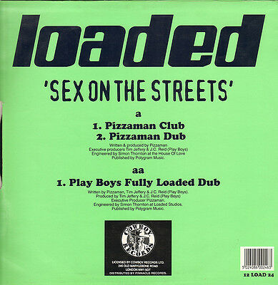 PIZZAMAN - Sex On The Streets - Loaded