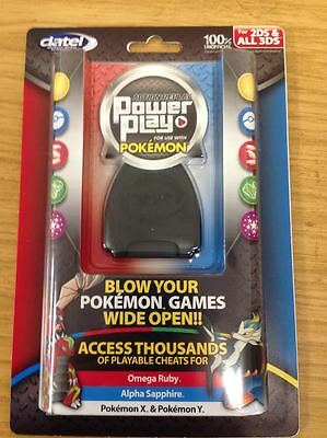 Datel Action Replay Power Play USA Saves/Cheats for Pokemon X & Y(2DS/3DS) NEW