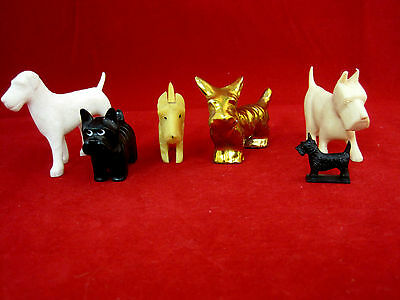 Terriers Scottish Dog 1-Lego Figurines Statue Vintage Lot of 6