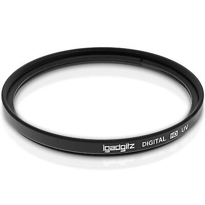 52mm Multi-Coated Glass UV Lens Filter Protection for SLR & DSLR Cameras