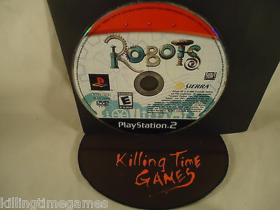 ROBOTS ! ( Sony Playstation 2 PS2 Game) DISK ONLY! TRUSTED! TESTED!
