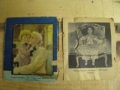 Shirley Temple Memorabilia Book Photos from The Little Colonel 1935
