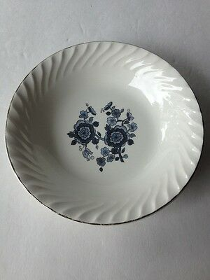 ROYAL BLUE IRONSTONE ENOCH WEDGWOOD TUNSTALL LTD. ENGLAND COLLECTIBLE SAUCER