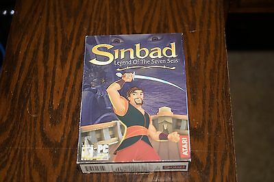 Sinbad Legend Of The Seven Seas for PC ** New & Sealed **