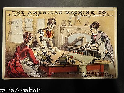 WM.S. Fell & Co. Importers of American Manufactures Advertising Card