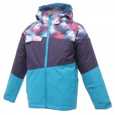 Dare2b Shindig Girls Ski Jacket Childrens Kids Waterproof Insulated 3 - 8 DGP089