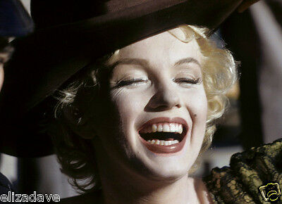 MARILYN MONROE Bus Stop Candid Close Up Color Rare 8x10 Photo