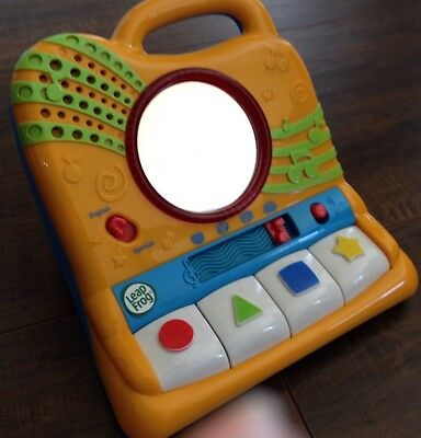 Leap Frog Learn & Groove Piano Music Lights & Mirror ENGLISH AND SPANISH