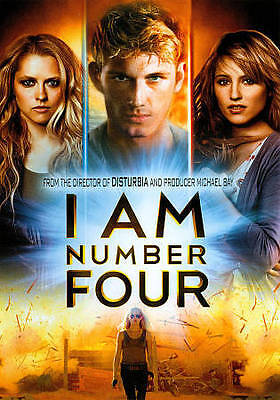 I Am Number Four (DVD 2011) Alex Pettyfer, Kevin Durand, Dianna Agron