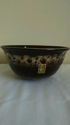 Fosters pottery large bowl -