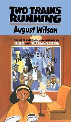 Two Trains Running by August Wilson (English) Paperback Book Free Shipping!