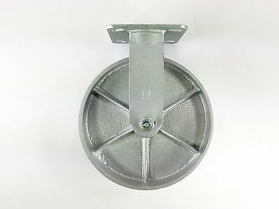 "8"" x 2"" Steel Wheel Caster - Rigid"