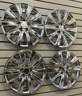 """NEW 2011-2013 TOYOTA COROLLA 16"""" CHROME Hubcap Wheelcover CHROME SET of 4"""