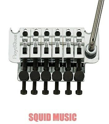 Floyd Rose Original Chrome Tremolo System Complete With Nut - NEW German Made