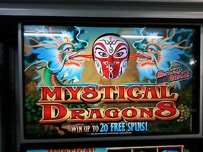 WMS  MYSTICAL DRAGONS    BB2 SOFTWARE    256 GAME    512 O.S.   WILLIAMS USED